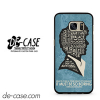 Sherlock It Must Be So Boring DEAL-9565 Samsung Phonecase Cover For Samsung Galaxy S7 / S7 Edge