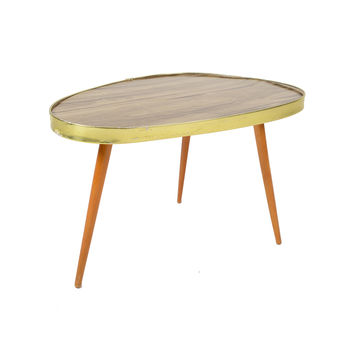 Formica and Function Vintage Side Table