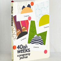 40ish Weeks: A Pregnancy Journal by Chronicle Books from ModCloth