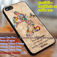 All Our Dreams Quote iPhone 6s 6 6s+ 6plus Cases Samsung Galaxy s5 s6 Edge+ NOTE 5 4 3 #cartoon #disney #animated #disneycastle dl3