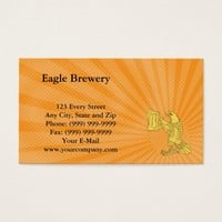 Eagle Brewery Business card