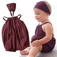 Baby Girls Clothing Sets Baby Girl Dress Fashion Newborn Baby Clothes Infant Jumpsuits