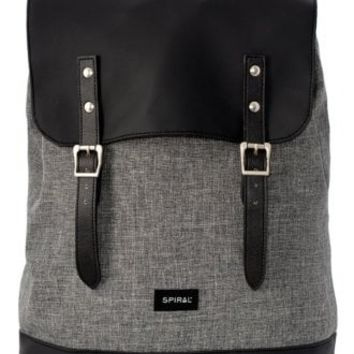 Spiral UK Charcoal Soho Backpack | Attitude Clothing