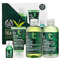 Sephora: The Body Shop Tea Tree 4-Piece Facial Skin-Care Regime ? Blemished Skin ($44 Value): Gift Ideas & Sets