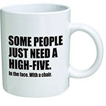 Chair High Five Ceramic Mug