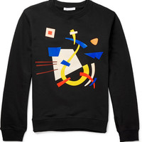 J.W.Anderson - Printed Cotton-Jersey Sweatshirt | MR PORTER