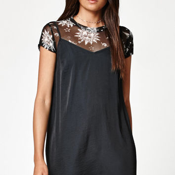 LA Hearts Moon Mesh Short Sleeve T-Shirt at PacSun.com