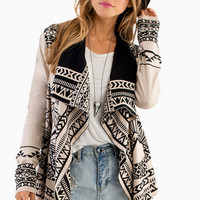 Native Lines Cardigan $47