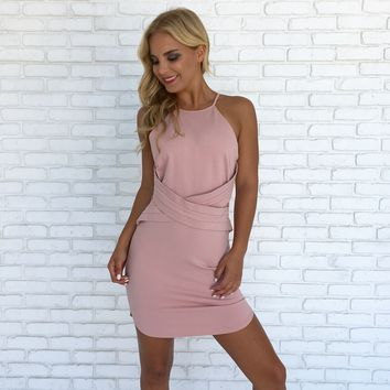 For The Thrill Pink Dress