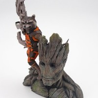 Guardians of The Galaxy Rocket Raccoon Artfx+ Statue
