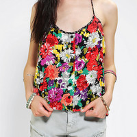Urban Outfitters - Urban Renewal Blossom Halter Top