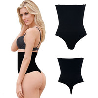 G-String High Waist Women Tummy Control Panties Panty Girdle Briefs Shaperwear Underwear Shaper Hot Shorts FYT01
