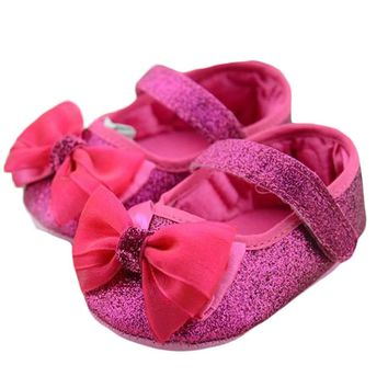 Baby Girls Bling Shoes Spring Anti-slip Shoes Sneakers Photography Props Newborn Branded Toddler First Walkers Baby Shoes