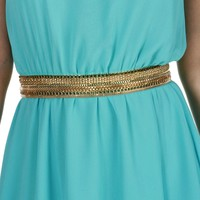 Gold Chain Drama Belt