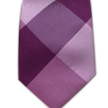 Bison Plaid - Azalea   Ties, Bow Ties, and Pocket Squares   The Tie Bar