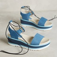 KMB Braselton Platforms in Blue Size: