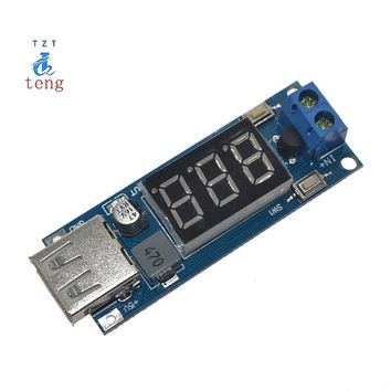 1PCS DC-DC Step Down Module Two-wire Voltmeter 5 V USB Charger or Power Supply Input 4.5V-40V Output 5V/2A