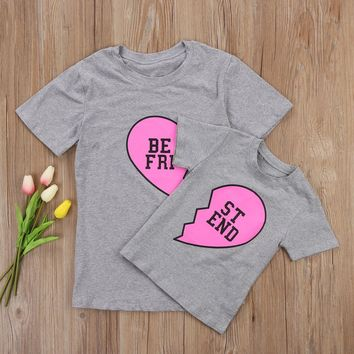 Mother Daughter LOVE BF T-shirt