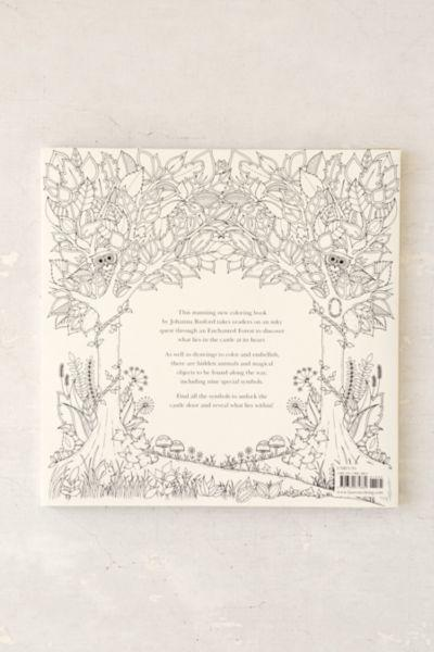 Enchanted Forest An Inky Quest Coloring Book By Johanna Basford 1595 From Urban Outfitters