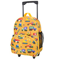Olive Kids Under Construction Rolling Luggage - 85110