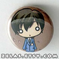 Ouran Host Club - Haruhi Button