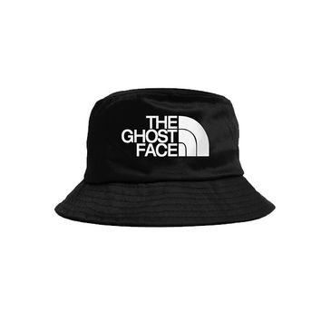 THE GHOST FACE BUCKET HAT