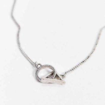 Icon Brand Da Vinci Necklace- Silver One