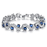 Delicate  Rhinestones Tennis Bracelet For Woman