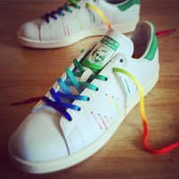 qiyif Adidas  Stan Smith Pride Pack 'Rainbow Paint Splatter-D70352'