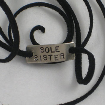 SOLE SISTER Wrap Bracelet Running Jewelry Sole by TheRunHome
