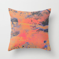 Disarm you with a smile Throw Pillow by DuckyB