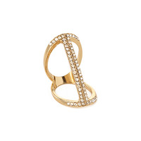 FOREVER 21 Subtle Glam Cutout Ring