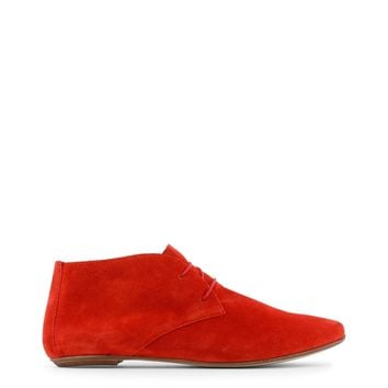 Arnaldo Toscani Red Leather Shoes