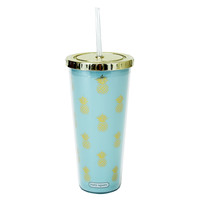 Mary Square Straw Tumblers