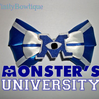 Monsters University Disney Bow