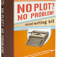 No Plot, No Problem Novel Writing Kit | Mod Retro Vintage Books | ModCloth.com $19.99