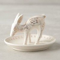 Frosted Forest Ring Dish by Anthropologie