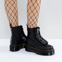 Dr Martens x Lazy Oaf Flatform Jungle Boots at asos.com
