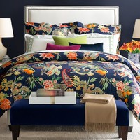New Moon Bedding, Navy