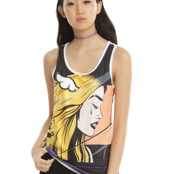 Blink-182 Cryifornia Girls Tank Top