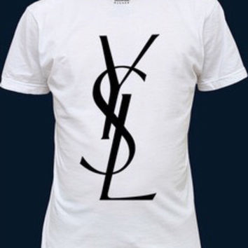 yves saint laurent YSL tshirt ,t-shirt & tops for women and men crew neck fitted t-shirt tees tops vest shirt quality  print brand new xs-xl