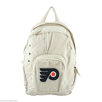 Philadelphia Flyers Natural Old School Backpack