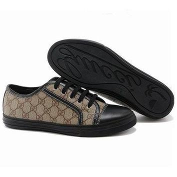 GUCCI Women Men Flats Sneakers Sport Shoes