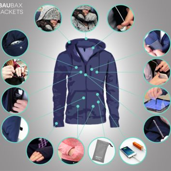 The World's Best TRAVEL JACKET with 15 Features || BAUBAX