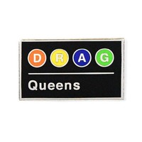 DRAG Queens Subway Train Pin
