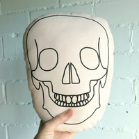 Skull Mini Cushion SALE ITEM