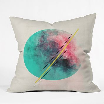 Allyson Johnson Color Explosion Throw Pillow