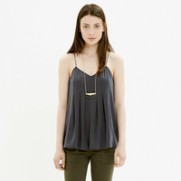 PLEATED CAMI