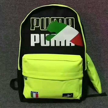 PEAPUF3 PUMA' Trending Fashion Sport Laptop Bag Shoulder School Bag Backpack  G-JJ-MYZDL