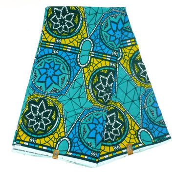 GTP NuStyle - African Designer Fabric - Cotton Ankara Print - Ghanaian Dutch Wax